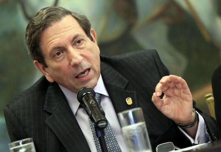 El canciller panameño, Fernando Núñez Fábrega, indicó que la tensión solamente se solucionará entregando el barco Doria. (EFE)