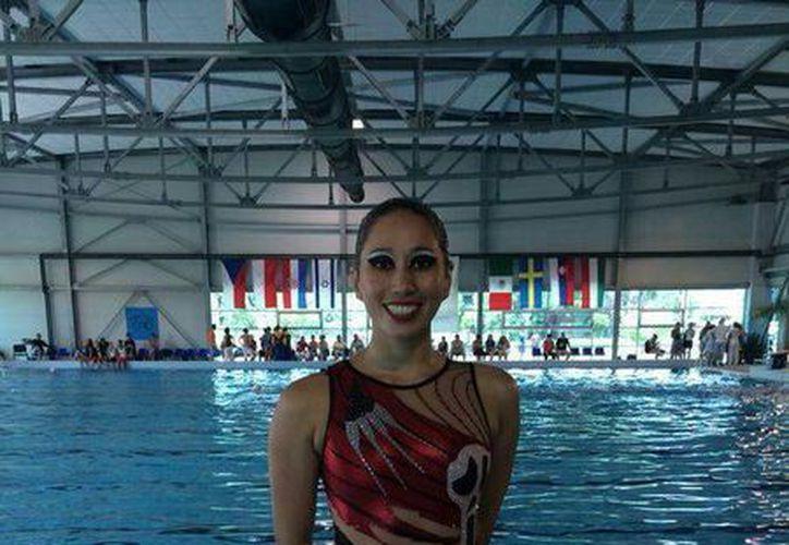 Karen Achach participará en breve en los Juegos Centroamericanos en Veracruz. (Milenio Novedades)