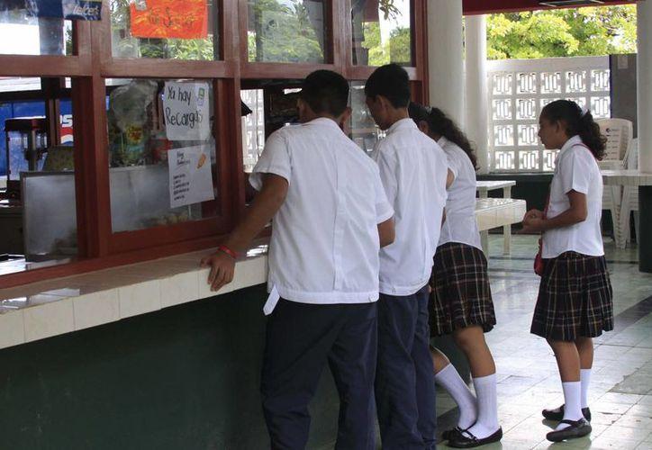 Las tienditas escolares deberán contar con las medidas de higiene recomendadas. (Harold Alcocer/SIPSE)