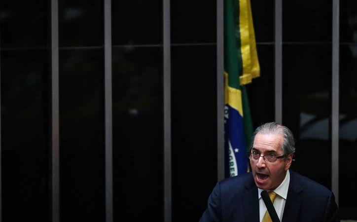 Eduardo Cunha, expresidente de la Cámara Baja de Brasil, detenido el jueves 19 de octubre de 2016, por su implicación en el caso Petrobras. (EFE/Archivo)