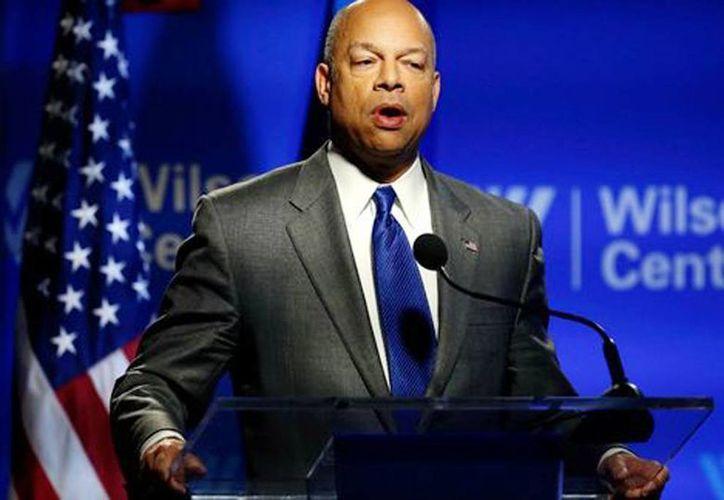 Jeh Johnson, secretario de Seguridad Interna de Estados Unidos, reconoció que el tema de la extradición corresponde al Departamento de Justicia. (Reuters)