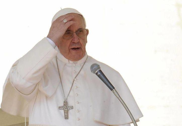 Jorge Bergoglio es socio del club de futbol nacido en 1908 en el barrio porteño de Almagro, en Buenos Aires, Argentina. (EFE)