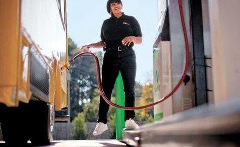 Esta semana Washington realizó sus primeras ventas de gas licuado al mundo. México y EU acordaron recientemente un plan de negocios relacionado con energía. (Foto tomada de Milenio Digital)