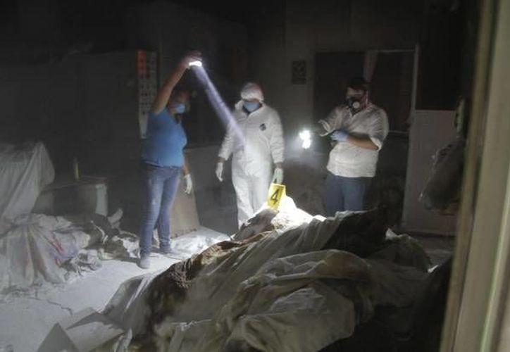 Prosiguen las investigaciones en torno a Cremaciones El Pacífico, en Acapulco, donde fueron hallados 60 cadáveres embalsamados y cubiertos de cal.  (jornada.unam.mx)