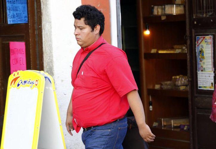Sobrepeso puede causar problemas del corazón. (Christian Ayala/SIPSE)