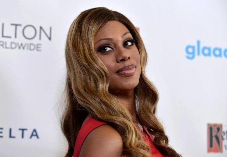 """Laverne Cox se siente satisfecha y orgullosa """"de poner en alto a las mujeres  transgénero negras"""", afirmó. (Archivo/Agencias)"""