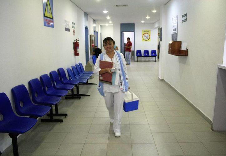 Los niños menores de cinco años, adultos mayores de 60, mujeres embarazadas y personas con enfermedad crónica deben vacunarse. (Joel Zamora/SIPSE)