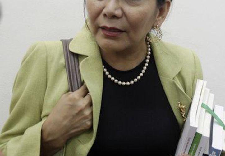 La directora de Programas Estratégicos de la Secretaría de Educación estatal (SEE), María Andrade Uitzil. (Christian Ayala/SIPSE)