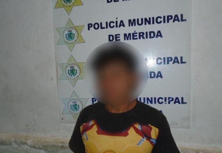 Alonso Eduardo N. fue trasladado a la Cárcel Municipal en donde fue puesto a disposición de los jueces calificadores. (SIPSE)