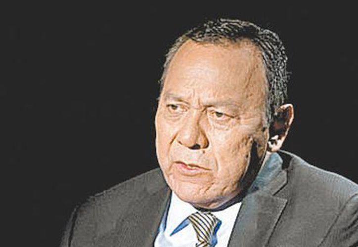 """""""No le tememos a Salinas, es un vendepatrias"""", dijo el presidente nacional del PRD. (Milenio)"""