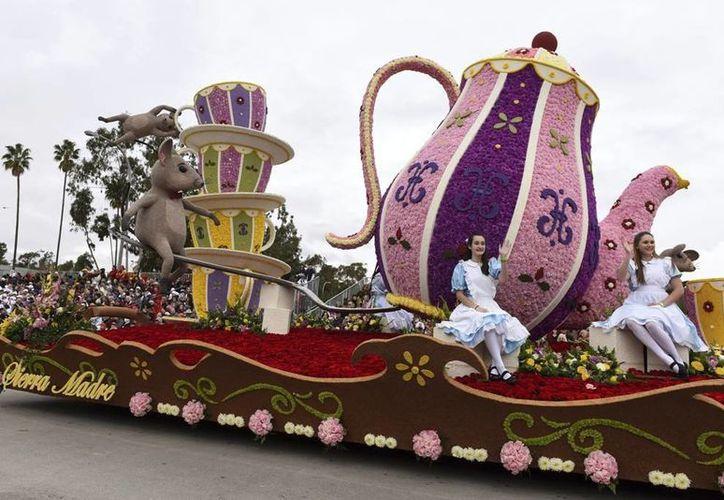 El desfile de las Rosas es uno de los eventos más esperados por los estadounidenses. (AP/Michael Owen Baker)