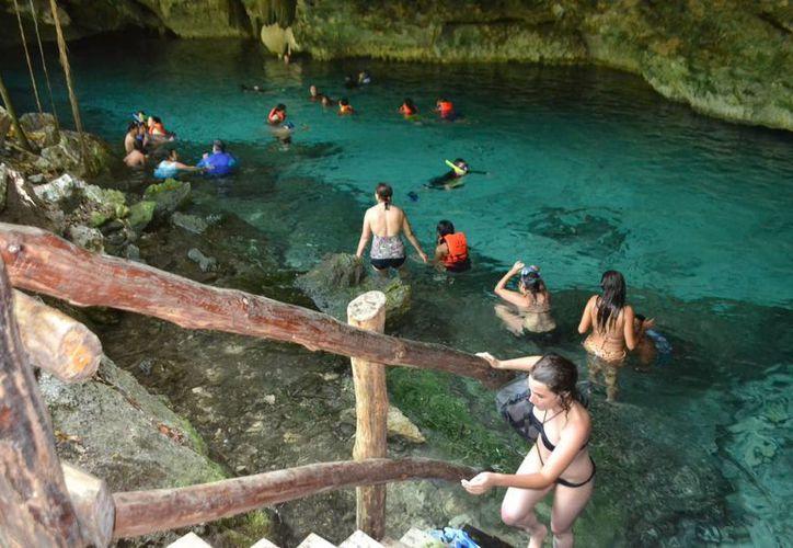 Un mapeo arrojó que hay en la Península de Yucatán el doble de los ríos subterráneos registrados actualmente. (Archivo/SIPSE)