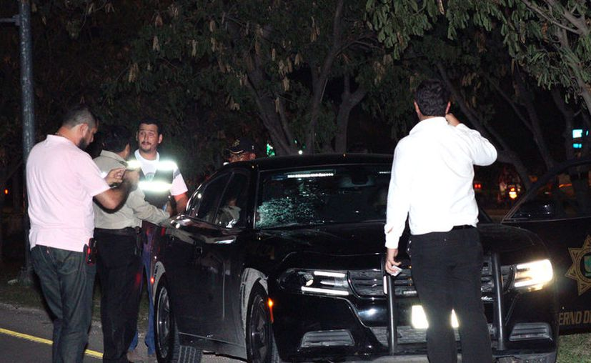 Un patrullero mató a un peatón, en un accidente de tránsito en el periférico de Mérida, la noche del lunes.