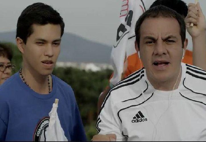 Cuauhtémoc Blanco, candidato del PSD a la alcaldía de Cuernavaca, lanzó su primer spot de campaña, a unos días de que se retire como futbolista profesional. (Captura de pantalla de YouTube)