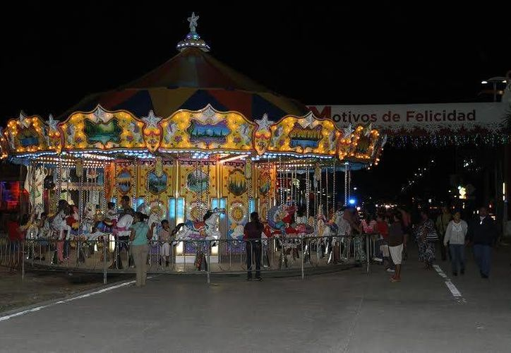 La feria de Playa del Carmen 2015 estará del 22 de diciembre al 6 de enero. (Redacción/SIPSE)