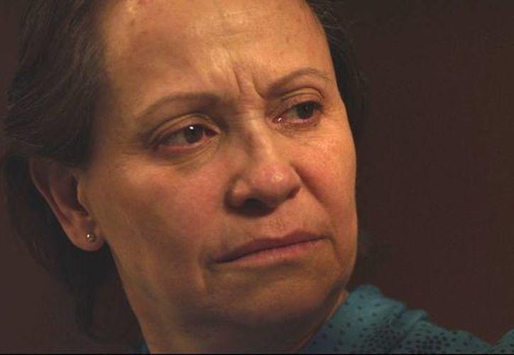 En 'Night Has Settled', Barraza sorprende con una caracterización muy realista de mujer mayor. (AP)