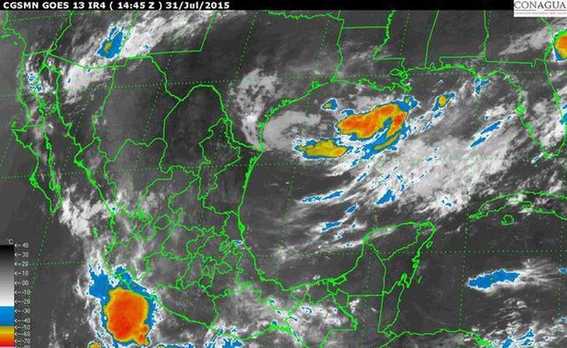 En la Península de Yucatán prevalecerá clima despejado a medio nublado, probabilidad de lluvia de 20 % con tormenta eléctrica en Campeche, Yucatán y Quintana Roo, temperaturas templadas en la mañana y noche, así como muy calurosas durante el día. (smn.cna.gob.mx)