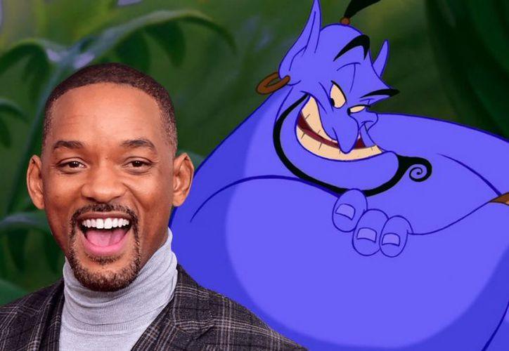 Will Smith dará vida al genio de la lámpara maravillosa en la versión live action de Aladdin. (culto.latercera.com)