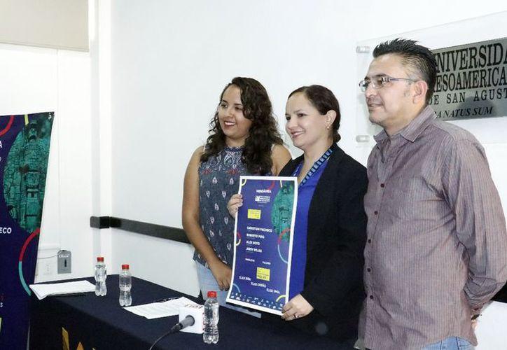 Alumnos de la UMSA invitan al Congreso de Diseño Multidisciplinario. (José Acosta/Milenio Novedades)