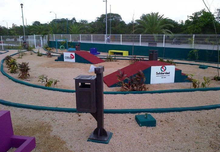 En breve se dará a conocer la fecha de inauguración del primer Centro de Recreación de Mascotas.  (Daniel Pacheco /SIPSE)