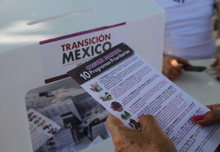 La segunda consulta definirá también el desarrollo del Istmo de Tehuantepec; construir una refinería en Tabasco. (Paola Chiomante/ SIPSE)