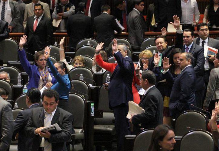 La Cámara de Diputados aprobó sin cambios la minuta que el Senado avaló el sábado por la madrugada. (Notimex)