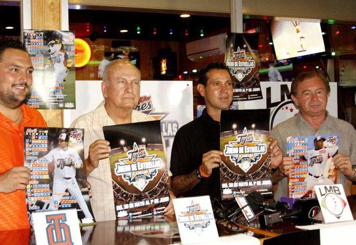 Anunciaron la venta de boletos en la Conferencia de Tigres previo al juego de estrellas a realizarse en la Ciudad de Cancún. (Francisco Gálvez/SIPSE)