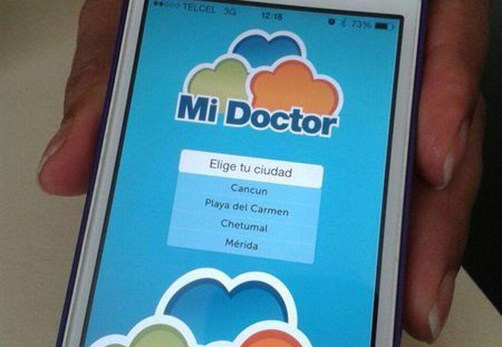Las personas puedan consultar los teléfonos, correos electrónicos y dirección de los médicos disponibles. (Licety Díaz/SIPSE)