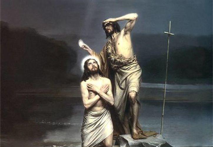 El bautismo de Jesús. (SIPSE)