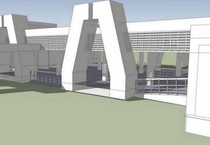 Para la nueva terminal en Punta Sam se invierten 31 millones de pesos. (Redacción/SIPSE)