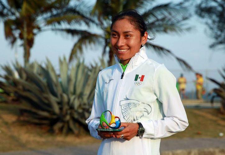 El resultado de Guadalupe González en Río de Janeiro 2016 es una motivación para todos los mexicanos, expresó el presidente Enrique Peña Nieto. (Notimex)
