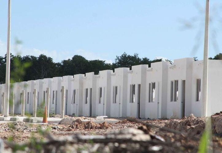 La empresa inició la construcción de 250 viviendas. (Daniel Tejada/SIPSE)