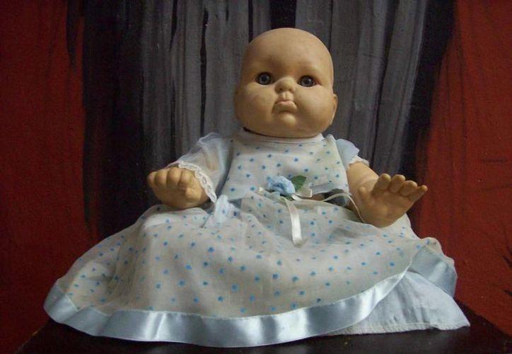 Si visitas el Museo Paranormal podrás conocer a Caty, la muñeca de Dzitnup (foto), así como a la muñeca de Calotmul y otras famosas. (Jorge Moreno/SIPSE)