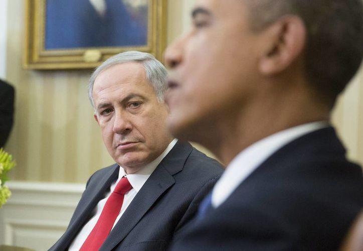 Obama expresó a Benjamín Netanyajhu, premier israelí, la disposición de EU para facilitar el cese de hostilidades entre Palestina e Israel. (Archivo/EFE)