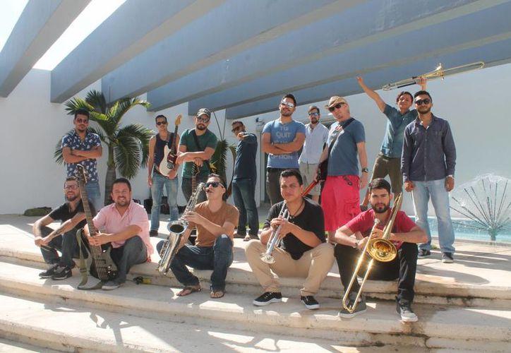 La agrupación presentará su primera producción discográfica en el Mora Mora. (Foto: Alejandra Flores/SIPSE)