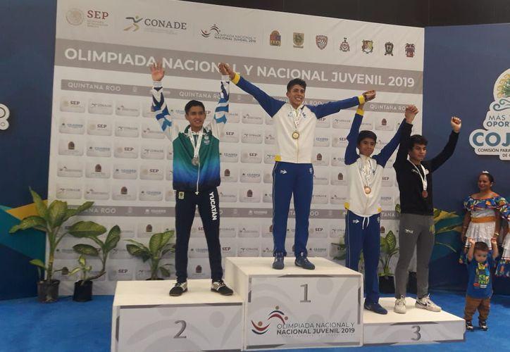 Guillermo Cervera se brindó al máximo pero no le alcanzó para el oro. (Foto:Novedades Yucatán)