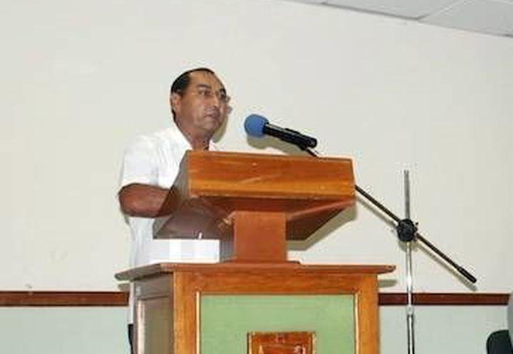 El titular de la Secretaría de Educación Estatal, Raúl Godoy. (Milenio Novedades)
