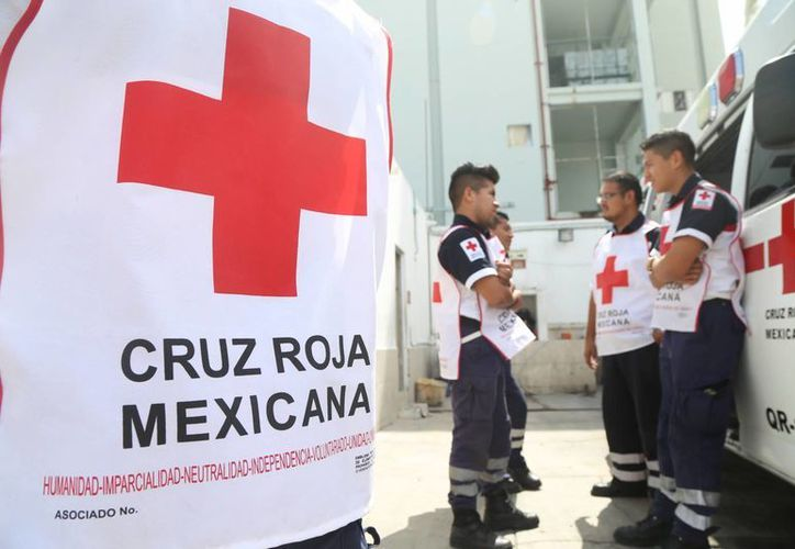 Los paramédicos de la Cruz Roja no se dan abasto para atender los incidentes que ocurren todos los días en la zona. (Amaury Rodríguez/SIPSE)