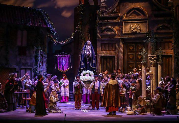 La ópera Cavalleria Rusticana se presenta en el cierre de temporada de la Orquesta Sinfónica de Yucatán (OSY). (Fotos de Facebook)