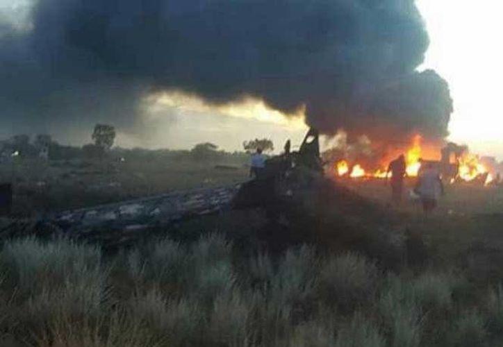 De los cinco ocupantes de la aeronave, cuatro fallecieron y uno más se encuentra hospitalizado. (Excélsior)