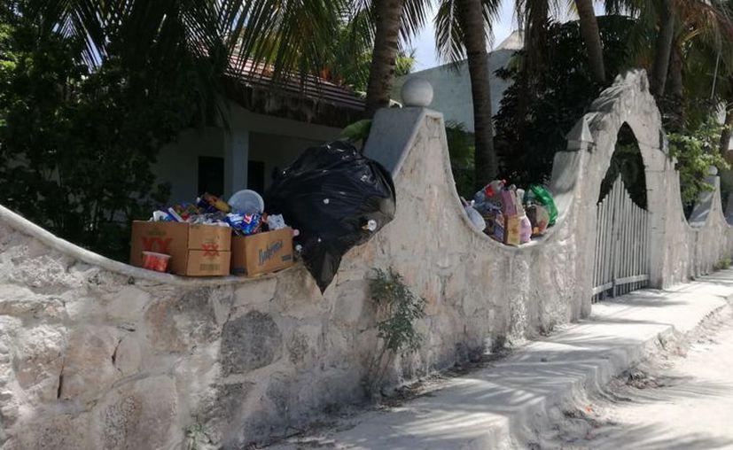 En días pasados se desataron rumores sobre la recolección de residuos en la isla. (Redacción/SIPSE)