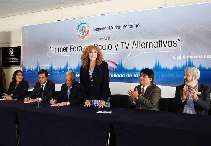 El evento fue respaldado por los senadores de la bancada del PT–Morena. (Cortesía)