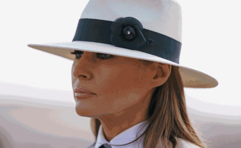 La esposa de Donald Trump lidera una campaña en contra del acoso en línea. (AFP)