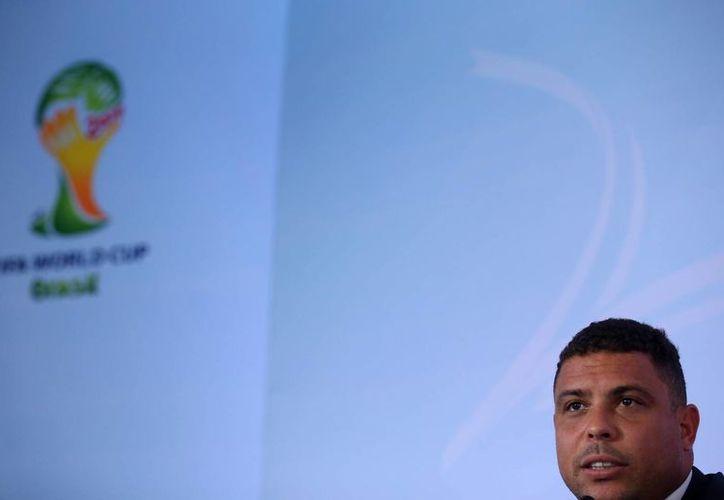 Ronaldo es miembro del Comité Organizador de Brasil 2014. (Foto: EFE)
