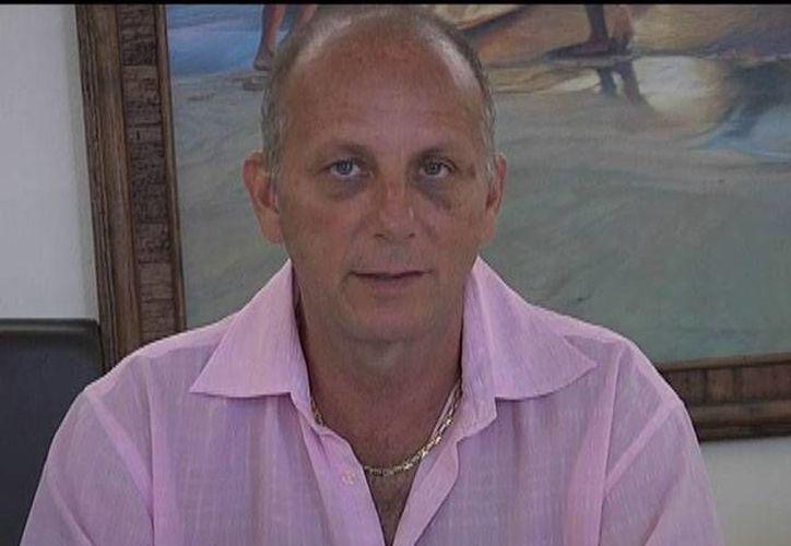 Óscar Athié salió libre tras pagar una fianza de 20 mil pesos. (guerrero.gob.mx)