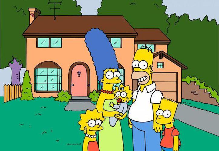 """""""Los Simpson"""" se ha transmitido por televisión durante 22 años. (Agencias)"""