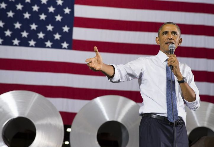 Obama explicó que la mayoría de propietarios de pequeñas empresas apoya un aumento gradual a 10 dólares y 10 centavos por hora. (Agencias)