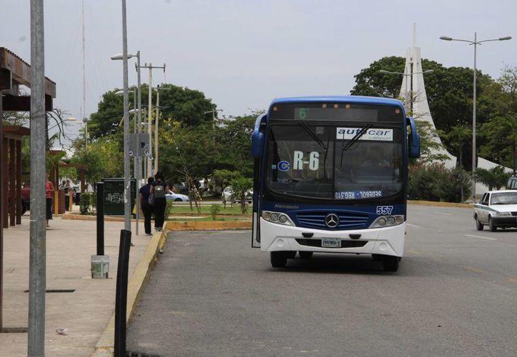 la Ruta 6 pasa por la Yaxchilán, Uxmal, Tulum, El Crucero, José López Portillo y el fraccionamiento Lombardo Toledano. (Tomás Álvarez/SIPSE)