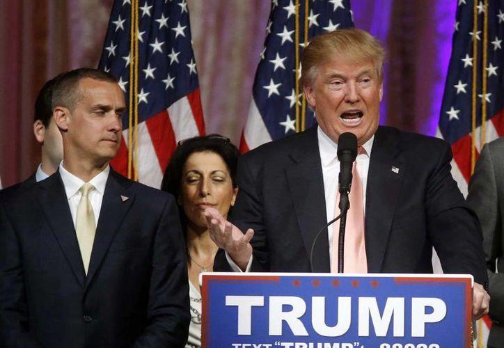 Donald Trump debe elegir ahora a su compañero o compañera para optar a la vicepresidencia de Estados Unidos. (AP)