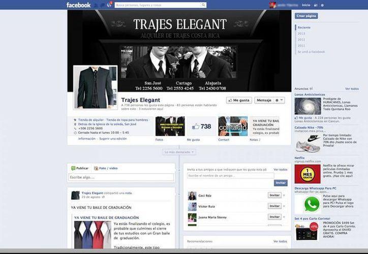 La red social Facebook genera mayor impacto de promoción a las Mipymes. (Archivo/SIPSE)